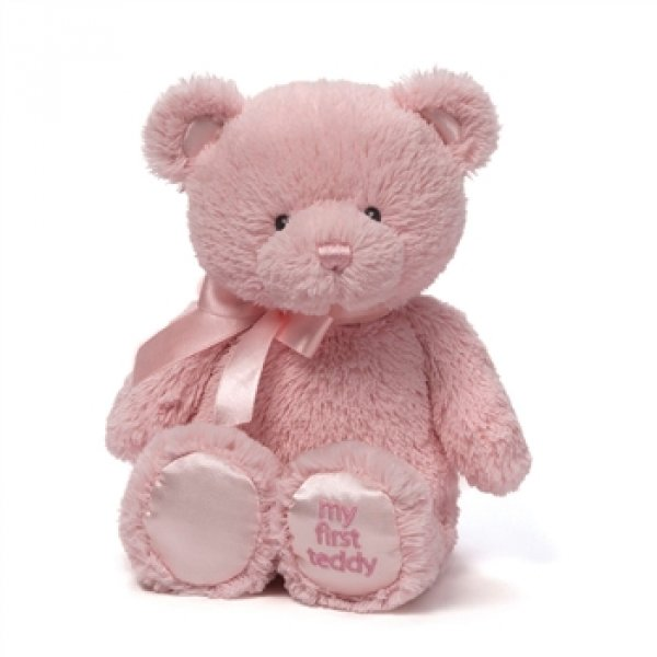 My First Teddy in pink