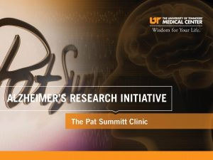 The report cover for the Alzheimer's Research Initiative brocure