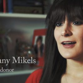 Brittany Mikels, kidney donor