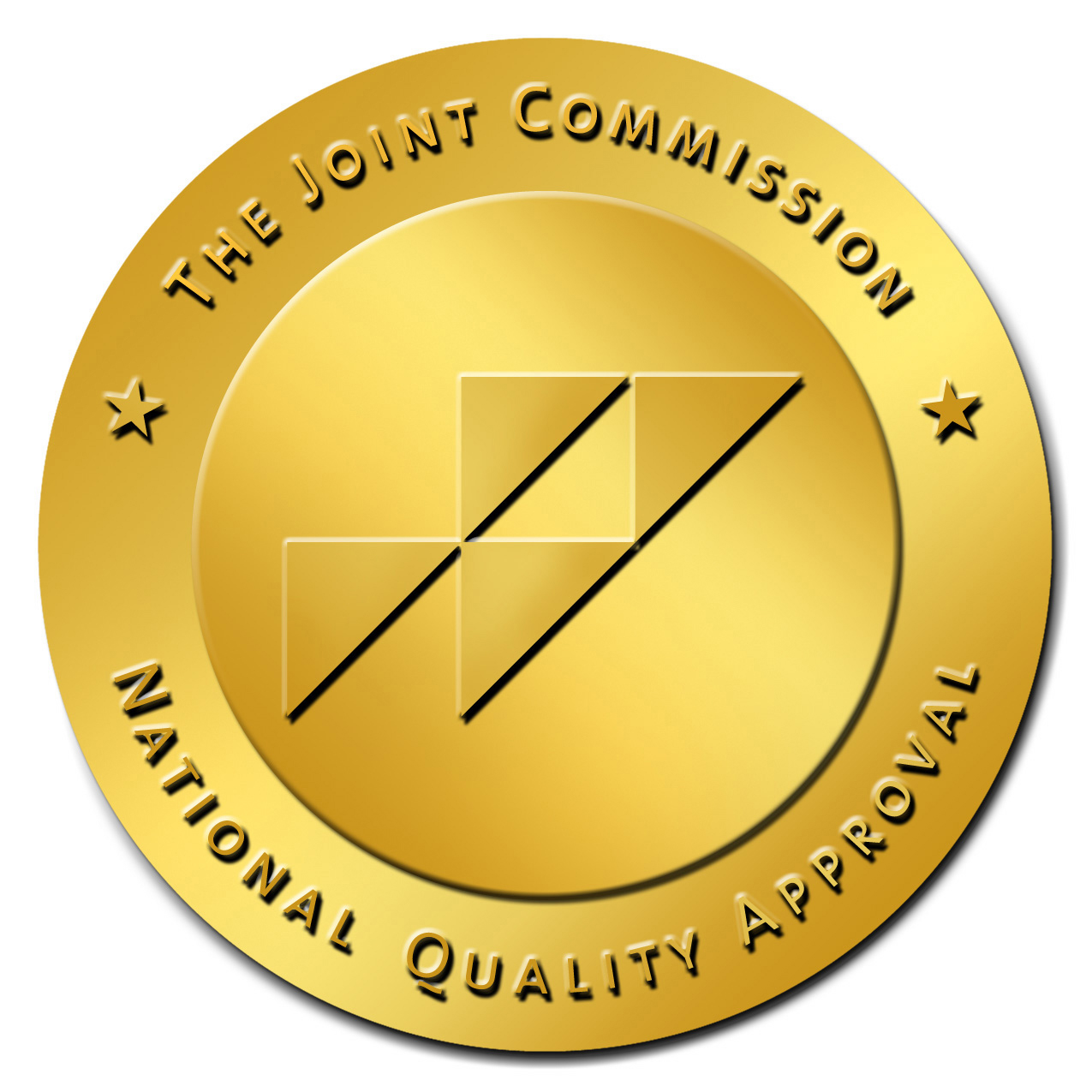 The Joint Commission's Gold Seal of Approval logo